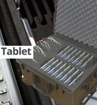 Transporte y carga de tablets